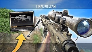 TRICKSHOTTING WITH CUSTOM SNIPERS ON BLACK OPS 2! (BO2 Trickshotting w/ 8 KILLCAMS!)