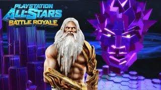 Playstation All Stars Battle Royale: Zeus Arcade Walkthrough (Commentary) (PS3) (HQ)