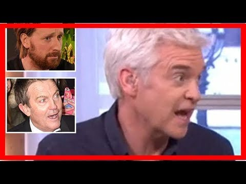 Philip Schofield accidentally calls Bradley Wiggins 'Sir Bradley Walsh' on This Morning and has vie