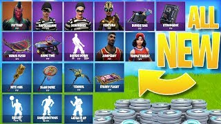 Legendary *NEW* Fortnite SKINS/ITEMS! - Fortnite LEAKED Cosmetics UPDATE!