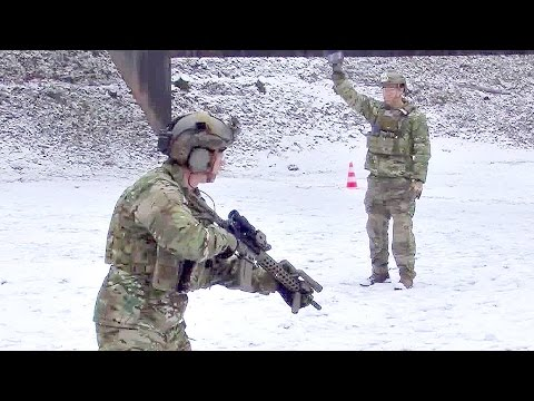 U.S. Army Special Forces - M4A1 Rifle Range