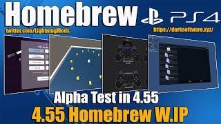 HomeBrew PS4 W.I.P Test Version ALPHA Ps4 4.55