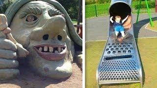 Çocuklara Yasaklanması Gereken En Korkunç Oyun Parkları