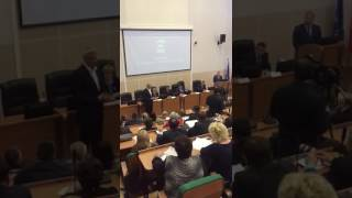 Мэр Нижнего Тагила на заседании политсовета ЕР