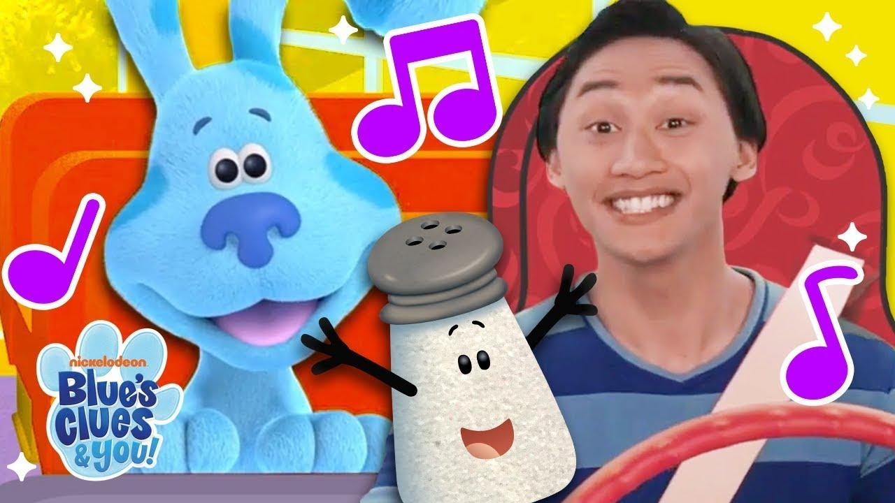 School Bus Sing Along #2 w/ Blue & Mr. Salt! | Blue's Clues & You!