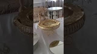 Прокат посуды, подставок и ваз на фуршет