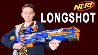 Nerf Longshot Elite Design [deutsch/german]