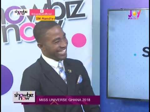 Miss Universe Ghana Winner, Live in The Studio With KMJ - Showbiz Now on JoyPrime C (17-9-18)