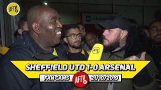 Sheffield Utd 1-0 Arsenal | We're Paying £350k For Ozil Just To Play Fortnite! (DT)