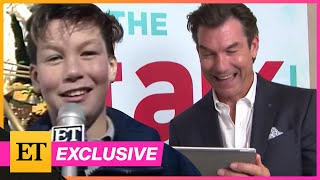 Jerry O'Connell REACTS to His ET Interview at 12-Years-Old (Exclusive)