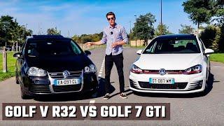 LE MYTHE AFFRONTE LA LÉGENDE | GOLF R32 vs GTI |