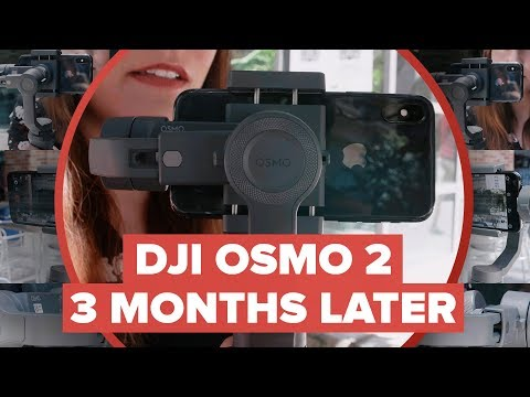 DJI Osmo Mobile 2: Three months later