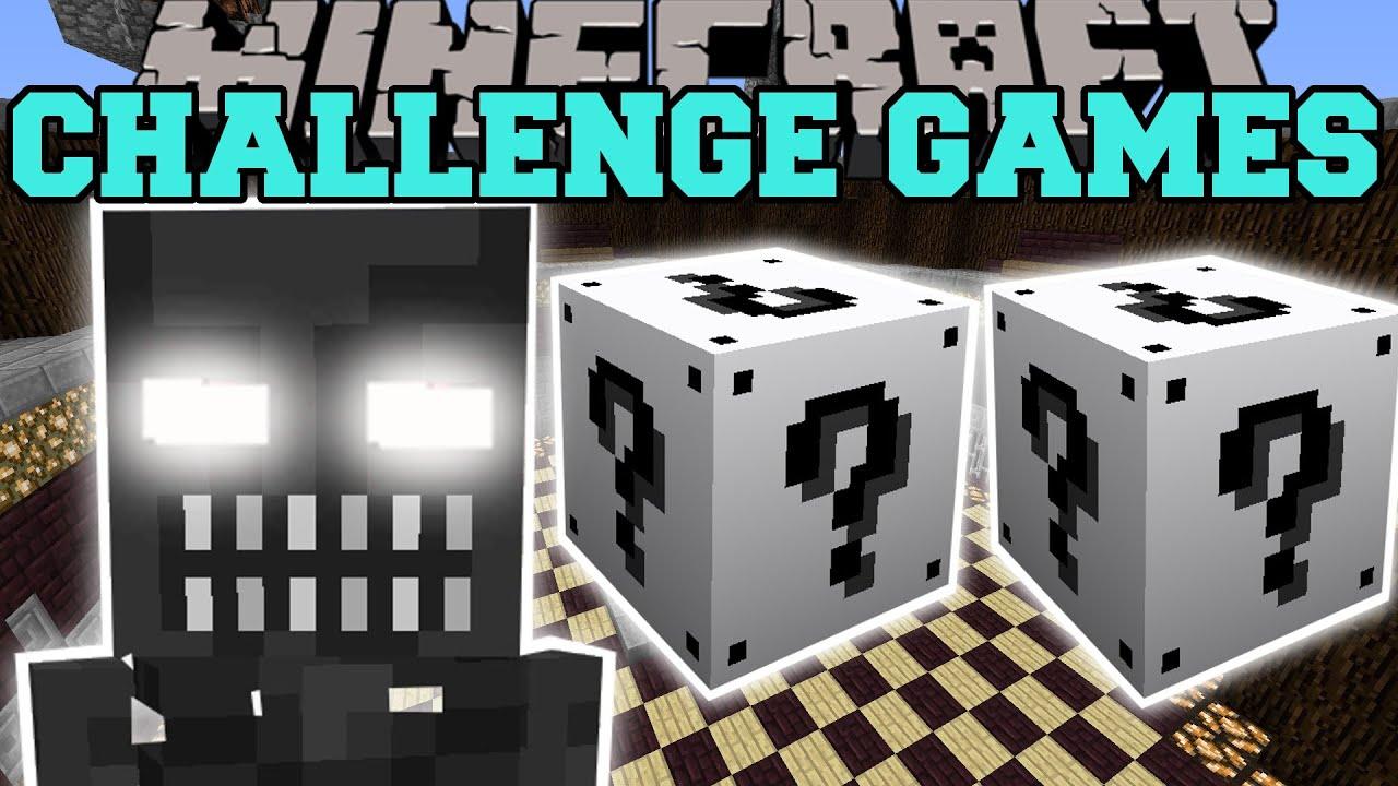 Download Minecraft: ENDOSKELETON CHALLENGE GAMES - Lucky Block Mod - Modded Mini-Game