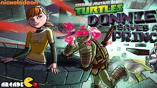 Teenage Mutant Ninja Turtles Donnie Saves a Princess - TMNT Cartoon Game For Kids