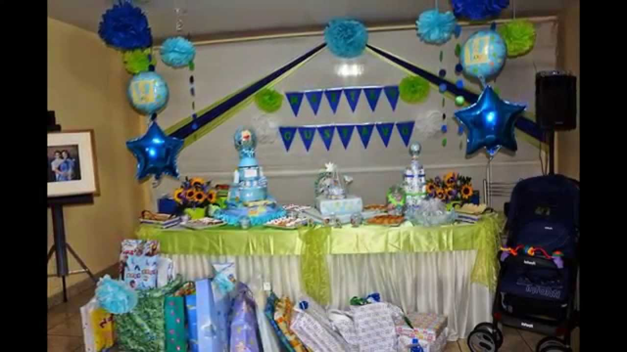 Decoraci n para baby shower en jes s mar a youtube for Decoracion para pared de baby shower