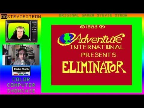 Eliminator - Defender Clone - 1983 - TRS-80 Color Computer Game