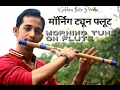 Download Morning tune on flute  Easy Flute ( Bansuri ) learn indian classical pahadi tune on f flute basuri MP3 song and Music Video