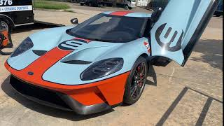 Sometime's while detailing I just make Video's Ford GT!
