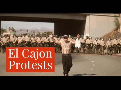 El Cajon Police Protests