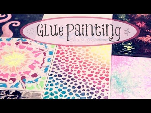 Diy Glue Painting Water Marble Tie Dye Amp More How To