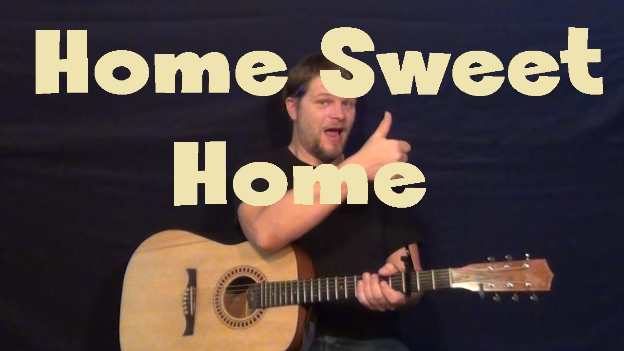 Home Sweet Home Justin Moore Easy Guitar Lesson How To Play Tutorial Youtube
