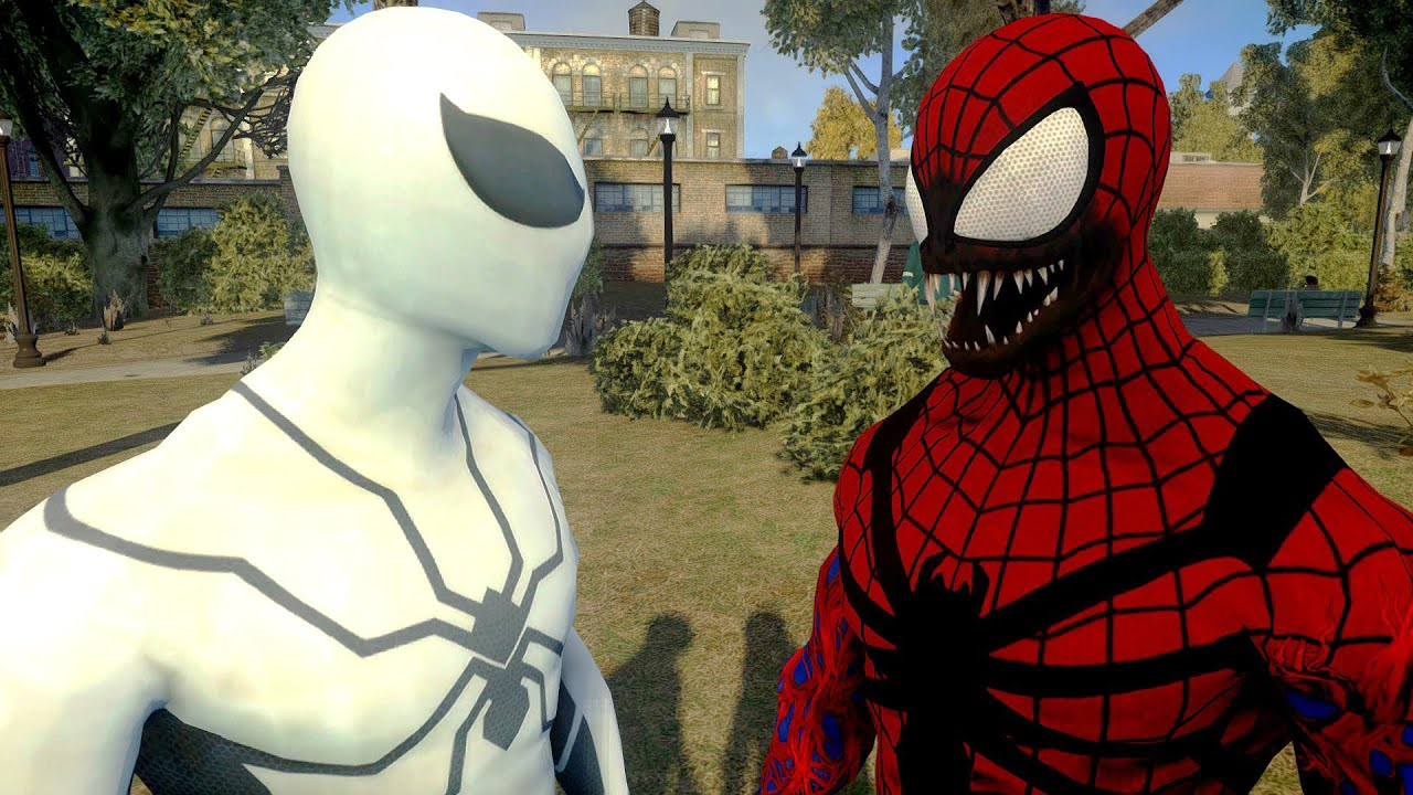 spiderman vs carnage future foundation spiderman youtube