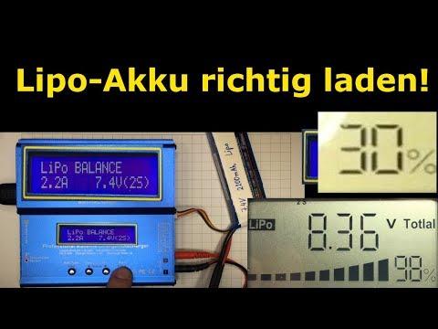 #004 - Lipo richtig laden - Lithium-Polymer-Akku richtig laden - einfach erklärt