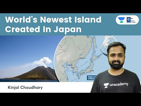 World's Newest Island Formed 1200 km off the coast of Japan l How is a New island formed?