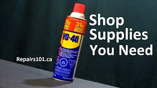 Top 10 Shop Supplies You Need At Home & Their Uses