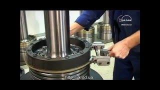 видео Двухтактный дизельный двигатель