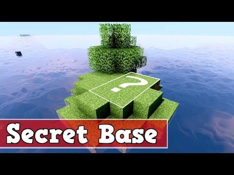 Wie baut man ein geheime Basis unter Wasser in Minecraft #3 | Minecraft geheime Basis bauen deusch