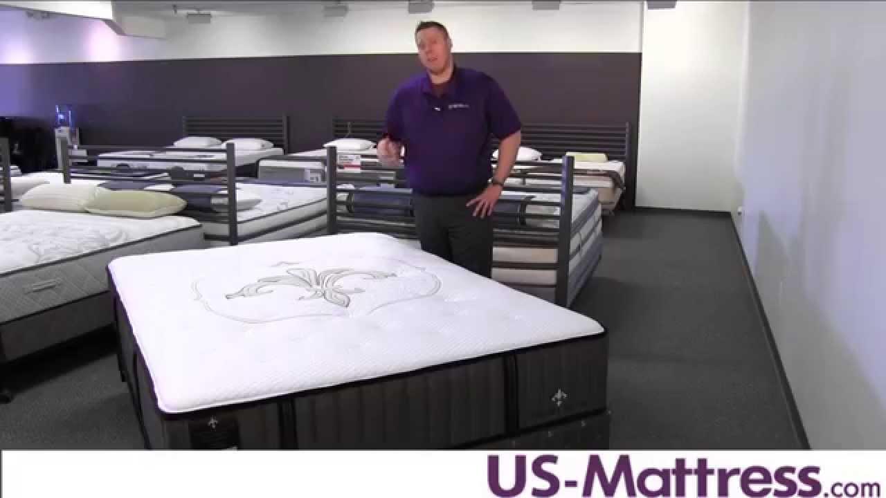 Stearns Foster Lux Estate Point San Luis Ultra Firm Mattress Youtube