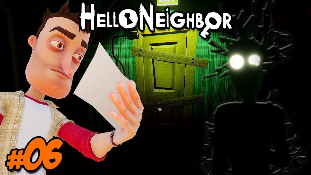 HELLO NEIGHBOR #6 – KONIEC GRY!