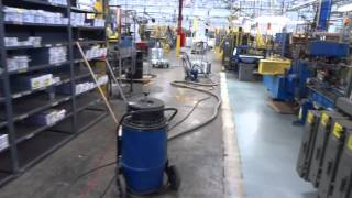 OrlandoPainters.net - Warehouse Floor Striping @ Sherwin Williams Plant