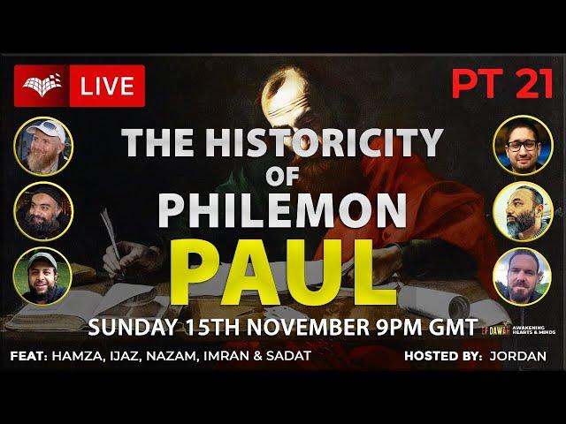 Testing the Historicity of Philemon - Paul