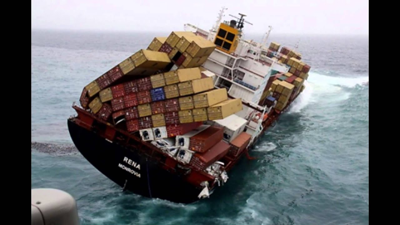 Cargo Ship Accidents Ocean Liner Accidents Container