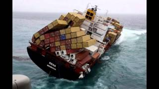Cargo Ship ''Accidents'' Ocean Liner Accidents Container Ship Wrecks And Fires