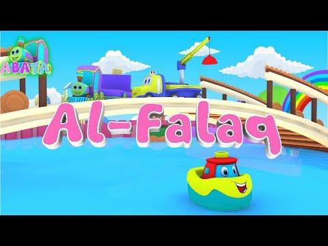 Murottal Juz Amma Al Falaq Animation 3D Learning Letters Arabic Alphabet by Abata