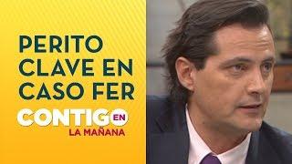 Habló el perito psicológico que entrevistará a Felipe Rojas - Contigo en La Mañana