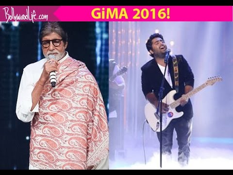 Arijit Singh Live At GIMA Awards 2016