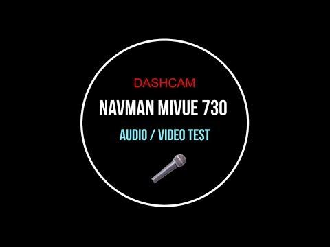 Navman MiVue 730 Dashcam Audio Video Test Melbourne Australia