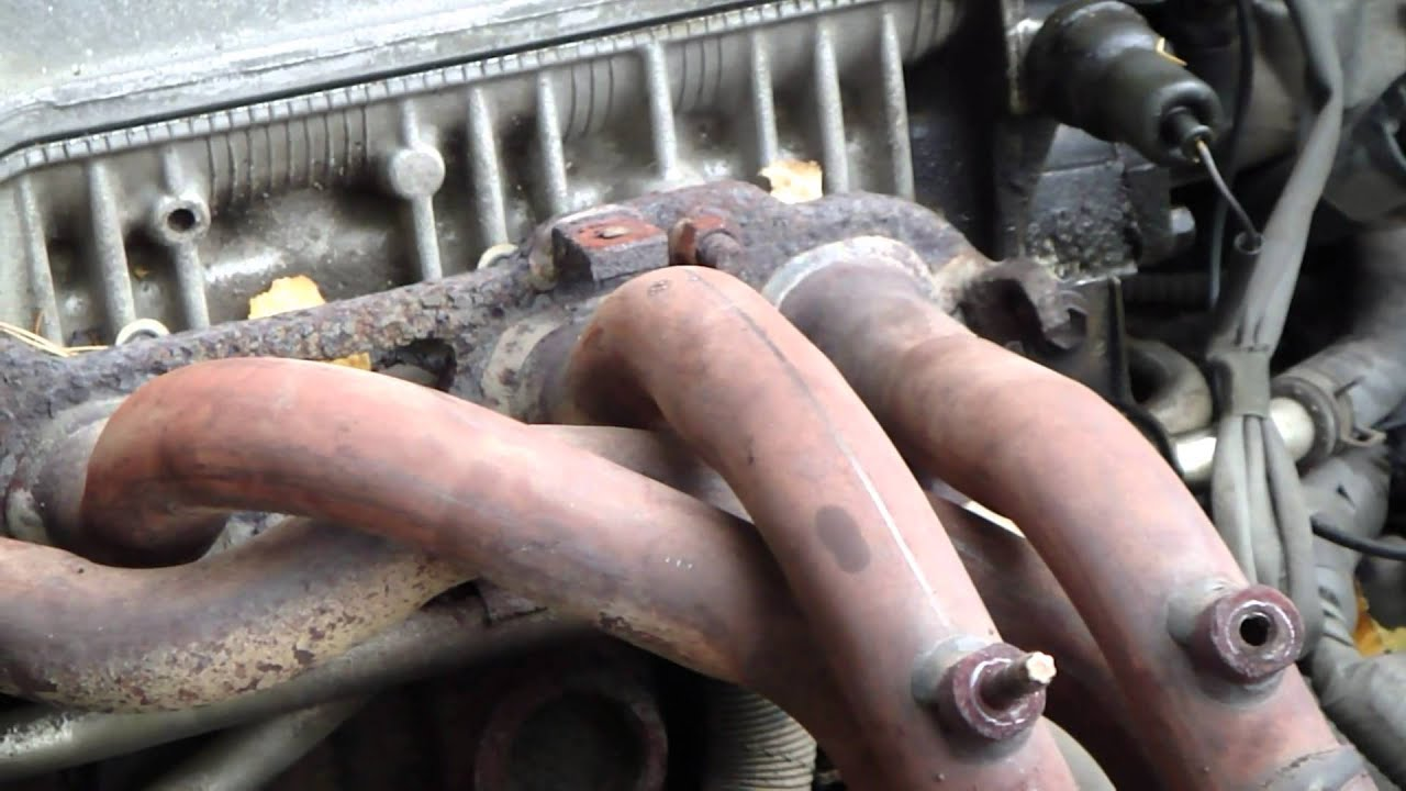 How To Replace Exhaust Manifold Toyota Camry 22 Liter Engine 1996 Rav4 Diagram Youtube Premium