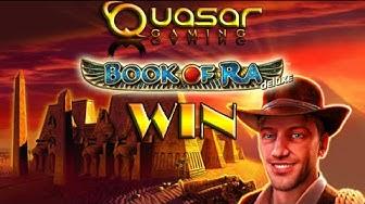 WIN| Quasar-gaming- BOOK OF RA DELUXE auf 1€/ 1,50€ und 2€