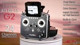 Jeti Duplex DS-16 G2 2.4GHz/900MHz Radio System W/Telemetry