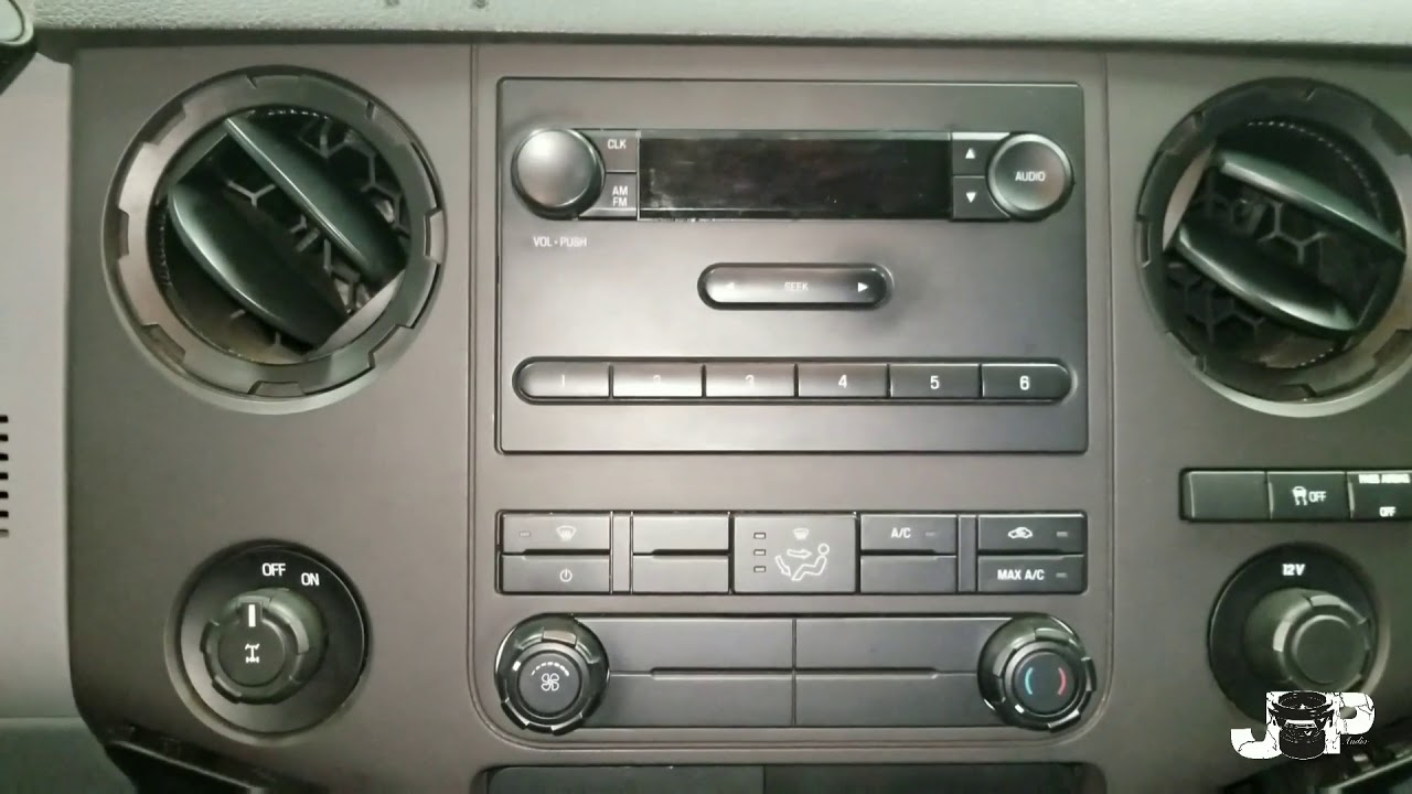 2012 Ford F250 Radio Removal Youtube F450 Wiring