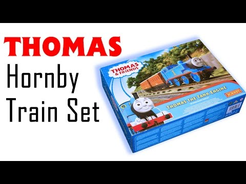 Unboxing the New 'Thomas & Friends' Train Set From Hornby