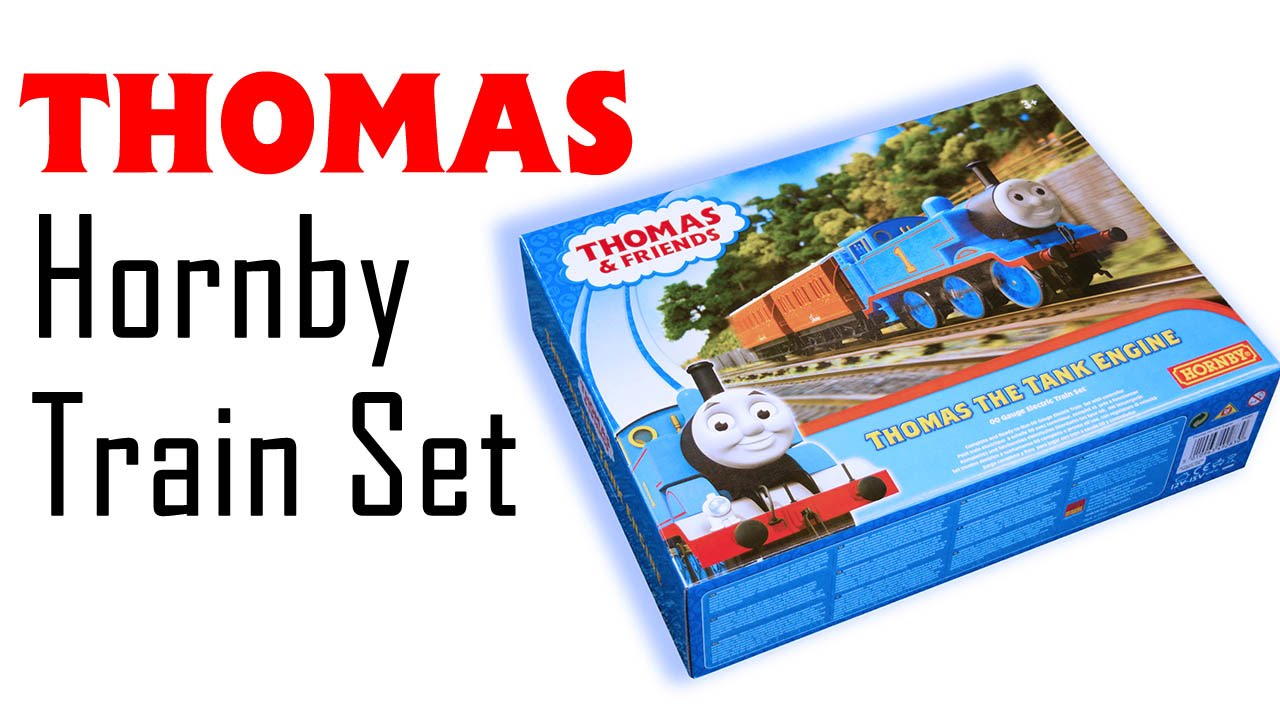 e9b7c86f271 Unboxing the New  Thomas   Friends  Train Set From Hornby - YouTube