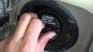 1999 Lexus RX300 - EVAP P0466  GAS CAP WOOSH
