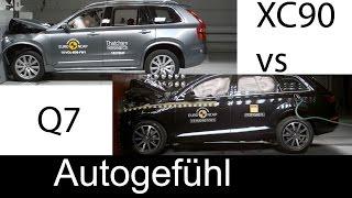Краш-тест и видео краш-тест Audi Q7 (Ауди Ку7) - Автомобильный информационный портал - AutoTurn.ru