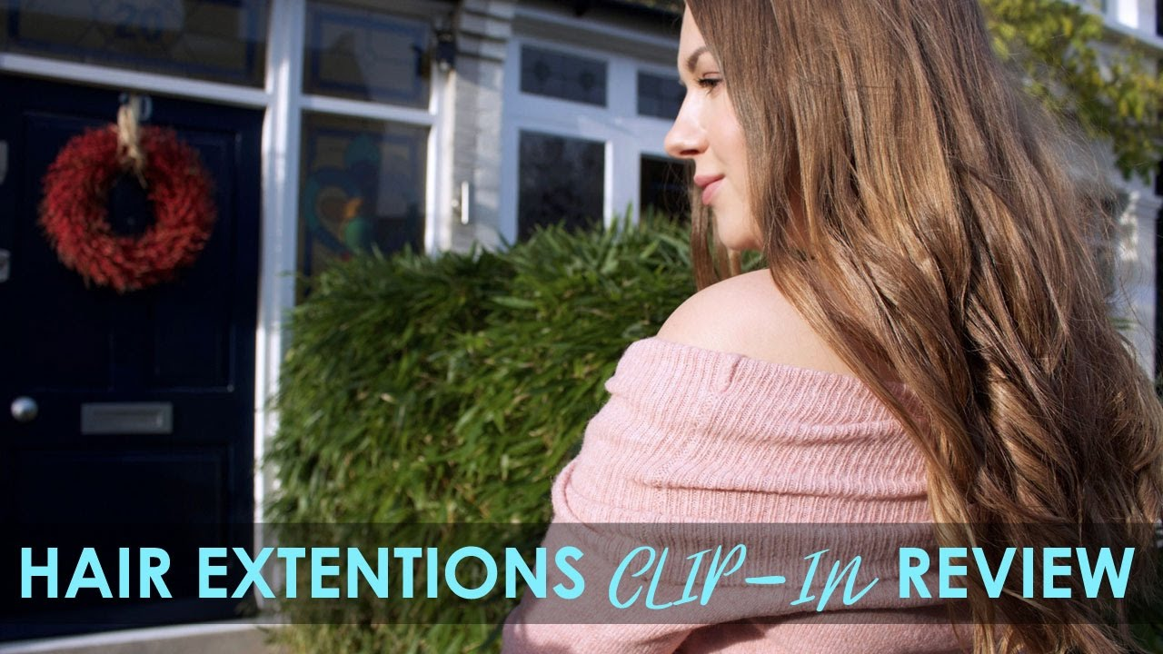 Glam Seamless Review Invisi Clip In Hair Extensions Yukova Youtube